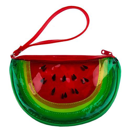 Косметичка-сумочка LADY PINK STAY JUICY WATERMELON краснаяКосметички<br>Косметичка Lady Pink - стильное и удобное решение для хранения косметики. Большой выбор косметичек разных форм и размеров, а также ярких дизайнов позволит легко выбрать ту, которая подходит именно тебе.<br>