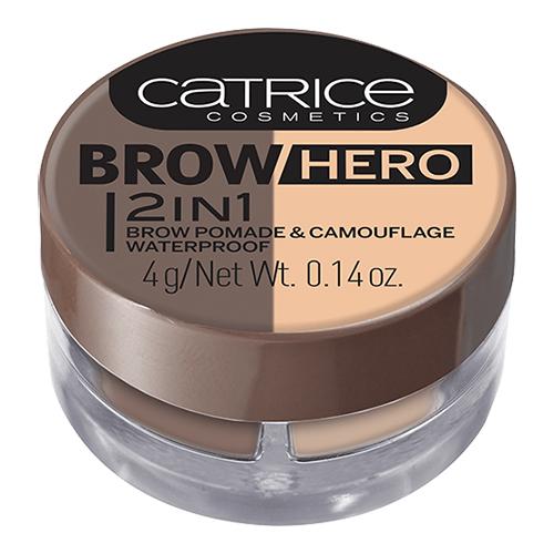 Помада для бровей CATRICE BROW HERO тон 010 с корректором водостойкая