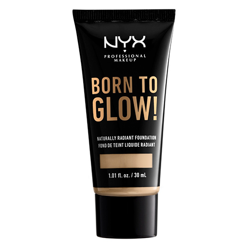 Основа тональная для лица `NYX PROFESSIONAL MAKEUP` BORN TO GLOW тон Nude