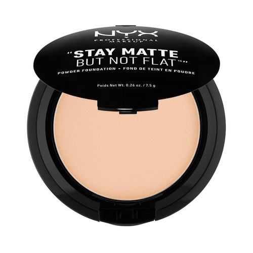 Пудра компактная для лица `NYX PROFESSIONAL MAKEUP` STAY MATTE BUT NOT FLAT тон 03 Natural
