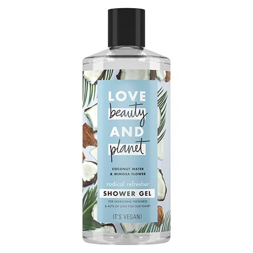 Купить Гель для душа LOVE BEAUTY AND PLANET COCONUT WATER & MIMOSA FLOWER Кокосовая вода и цветы мимозы 400 мл, РОССИЯ/ RUSSIA