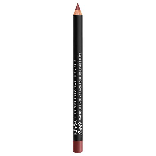 Карандаш для губ NYX PROFESSIONAL MAKEUP SUEDE MATTE LIP LINER тон 12Карандаши<br>Бархатные, матовые губы являются абсолютной необходимостью! <br>Чтобы получить идеальную коллоборацию с матовыми помадами Liquid Suede Cream Lipstick и Soft Matte Lip мы создали 36 богато пигментированных оттенков. Каждый оттенок идеально ложится и обеспечивает идеальную основу для наших столь любимых матовых  помад.<br>