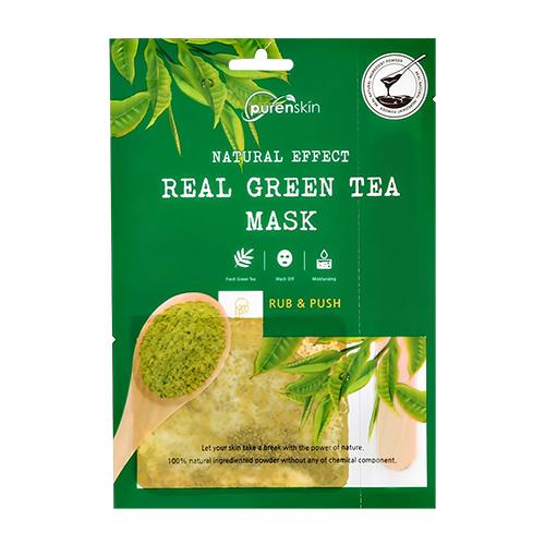 Купить Маска для лица PURENSKIN NATURAL EFFECT 2-х компонентная с экстрактом зеленого чая увлажняющая 15 г + 0, 5 г, РЕСПУБЛИКА КОРЕЯ/ REPUBLIC OF KOREA