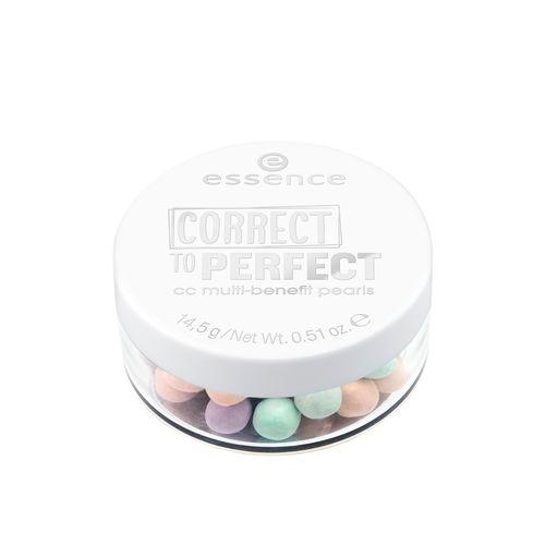 Пудра для лица `ESSENCE` CORRECT TO PERFECT в шарикахПудра<br>Мультифункциональная пудра в шариках объединяет в себе все корректирующие оттенки. Заключительный штрих для безупречного вида!<br>