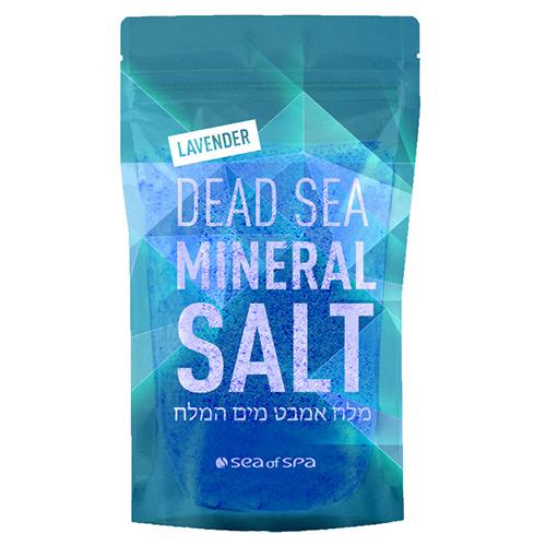 Соль для ванны SEA OF SPA минеральная Мертвого моря Лаванда 500 г