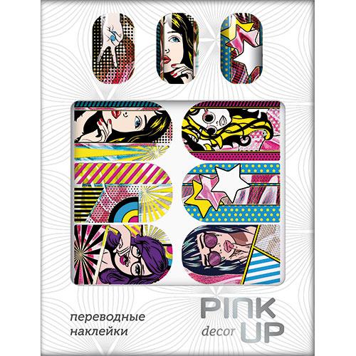 Наклейки для ногтей переводные `PINK UP` NAIL DESIGN тон 532Дизайн ногтей<br>Pink Up Nail desing – наклейки для ногтей. Твой незаменимый помощник для создания салонного дизайна ногтей в домашних условиях. Дизайн ногтей который всегда получается!<br>