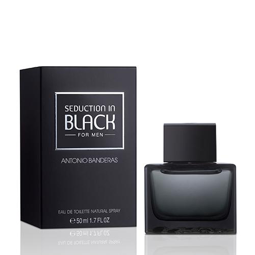 Купить Туалетная вода ANTONIO BANDERAS SEDUCTION IN BLACK MAN 50 мл, ИСПАНИЯ/ SPAIN