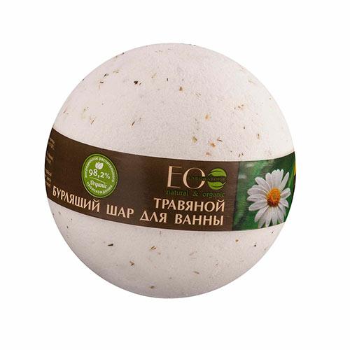 Бурлящий шар для ванны `EO LABORATORIE` Базилик и шалфей 220 гПрочее<br>Масло базилика успокаивает кожу, снимает раздражение, придает свежий вид, активно участвует в антивозрастном уходе. Экстракт шалфея оказывает успокаивающее и вяжущее действие, способствует улучшению состояния кожи, тонизирует, особенно эффективен для жирной и нормальной кожи. Ромашка аптечная оказывает успокаивающее действие, смягчает, увлажняет, идеально для чувствительной кожи.<br>