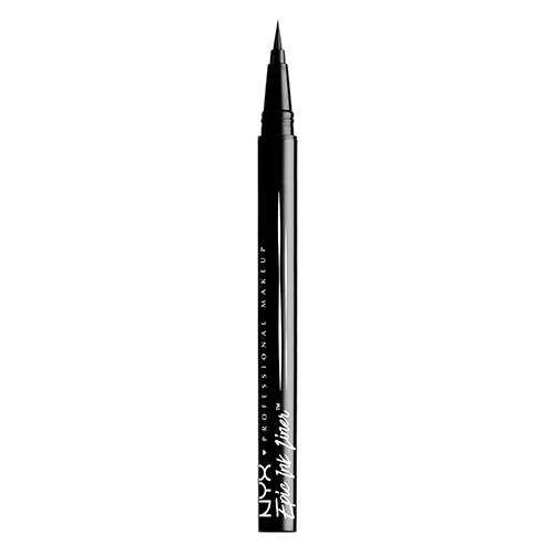 Подводка-лайнер для глаз NYX PROFESSIONAL MAKEUP EPIC INK LINERПодводки<br>Аппликатор, обладая тонким и эластичным кончиком, позволяет без труда прорисовать черную линию стрелки! Имеет очень пигментированный черный цвет, и водостойкую текстуру. Контролируйте толщину ваших линий, нажимая только одним касанием. Прекрасный и натуральный, открытый и смелый взгляд - всегда зависит от вас!<br>
