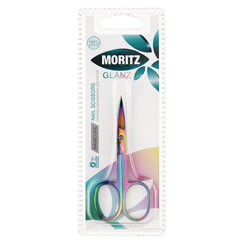 Ножницы для ногтей MORITZ GLANZ с изогнутыми лезвиями фото