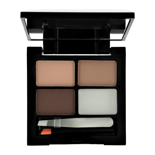 Палетка для макияжа бровей REVOLUTION FOCUS & FIX тон medium dark