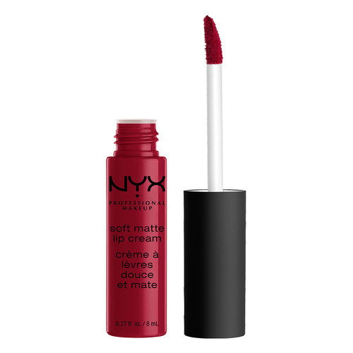 Помада для губ NYX PROFESSIONAL MAKEUP SOFT MATTE LIP CREAM тон 10 Monte Carlo матовая жидкая фото