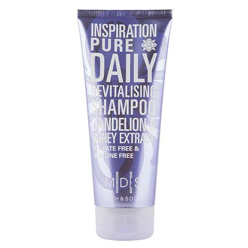 Шампунь для волос `MADES` `BATH &amp; BODY` INSPIRATION PURE  200 млШампуни <br>Шампунь для волос с цветочным ароматом, обогащенный питательным маслом аргана, нежно очищает волосы и кожу головы. Экстракт меда, обладая множеством полезных веществ, отлично сохраняет влагу в волосах, укрепляет и добавляет им невероятный блеск. Экстракт одуванчика восстанавливает структуру поврежденных волос, делает их идеально послушными и шелковистыми. Шампунь без красителей, сульфатов и силиконов придает потрясающий объем без утяжеления.<br>