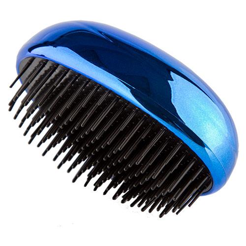 Щетка для волос `LADY PINK` DETANGLING BRUSH распутывающая blueЩетки массажные<br>Расческа Dentangling Brush с особой щетиной мягко распутывает волосы, не повреждая их. Щетка выполнена в стильном дизайне, который будет украшением твоей сумочки!<br>Для самых запутанных случаев у Lady Pink есть ответ!<br>