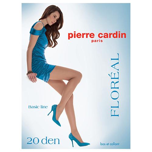Колготки женские PIERRE CARDIN BASIC LINE FLOREAL 20 den (Visone) р-р 3Колготки<br>Колготки шелковистые, эластичные. Мягкие комфортные штанишки. Укрепленный, прозрачный мысок.<br>