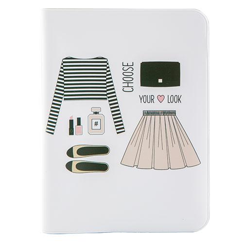 Обложка для паспорта KAMCITY WOW! DressДеловые аксессуары<br>Оригинальные и стильные аксессуары, которые придутся по душе истинным модникам и поклонникам интересных и необычных дизайнов. Аксессуары выполнены из легкого и прочного материала, который надежно защищает важные документы от пыли и влаги. Дизайны нанесены специальным образом и защищены от стирания. Стильные аксессуары KAMCITY определенно выделят своего обладателя из толпы и непременно поднимут настроение. в ассортименте представлены обложки для документов, визитницы, кошелечки, блокноты.<br>
