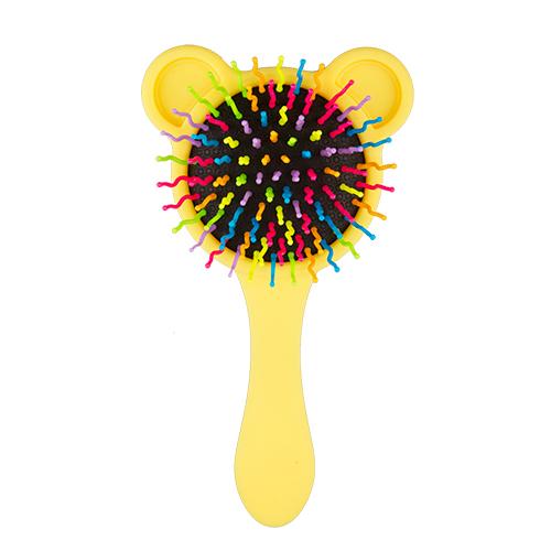 Щетка для волос `MISS PINKY` EYECANDY yellowЩетки массажные<br>Очаровательная расческа Miss Pinky подарит самое бережное расчесывание. А яркий цвет и интересный дизайн превратят процесс расчесывания  в настоящее удовольствие!<br>