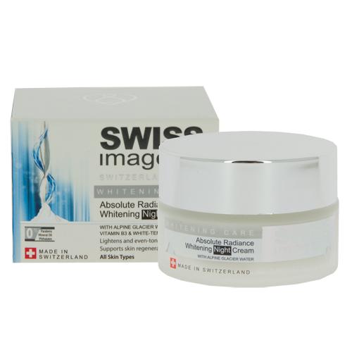Крем для лица SWISS IMAGE WHITENING CARE ночной осветляющий выравнивающий тон кожи 50 мл
