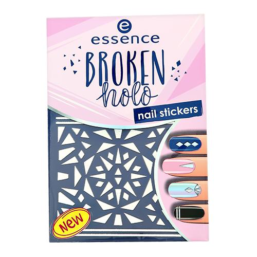 Наклейки для ногтей ESSENCE BROKEN HOLO тон 12