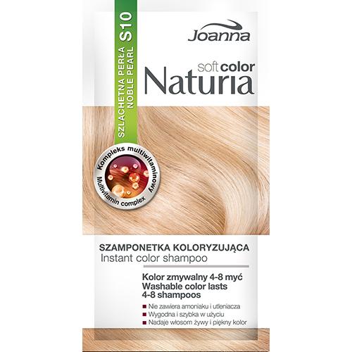 Оттеночный шампунь для волос JOANNA NATURIA SOFT тон 10 Благородный жемчуг
