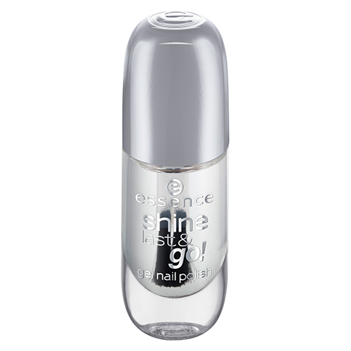 Лак для ногтей `ESSENCE` SHINE LAST & GO! тон 01 8 мл