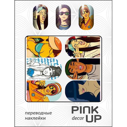 Наклейки для ногтей переводные PINK UP NAIL DESIGN тон 508Дизайн ногтей<br><br>