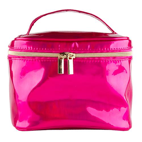 Косметичка-чемоданчик `LADY PINK` LIMITED голографическая розоваяКосметички<br>Косметичка Lady Pink - стильное и удобное решение для хранения косметики. Большой выбор косметичек разных форм и размеров, а также ярких дизайнов позволит легко выбрать ту, которая подходит именно тебе.<br>