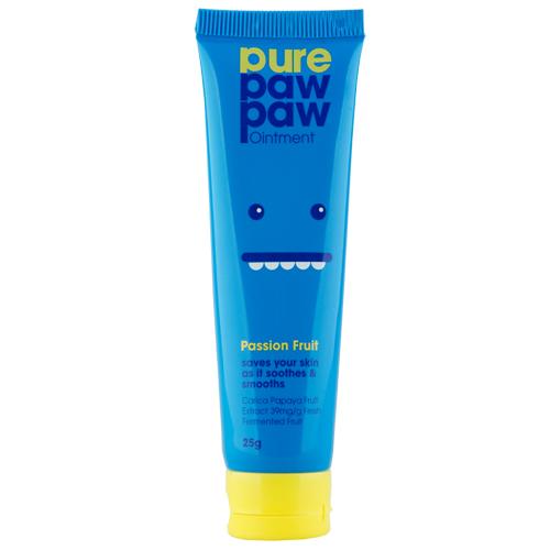 Бальзам для губ `PURE PAW PAW` с ароматом маракуйи 25 гГубы<br>Продукт используется в косметических целях для увлажнения и питания кожи губ, лица и тела, а также для заживления поврежденных участков кожи.<br>