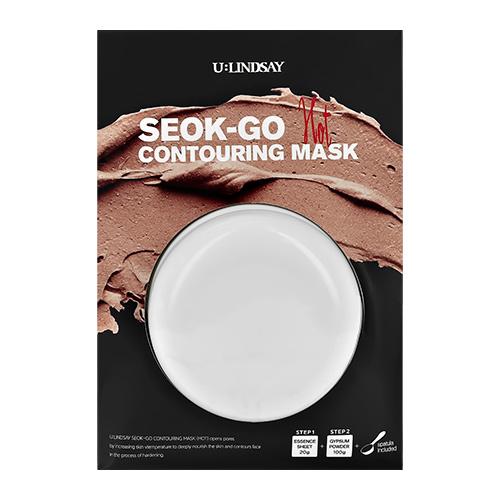Маска для лица LINDSAY SEOK-GO альгинатная согревающая питательная 100 г + 20 г.