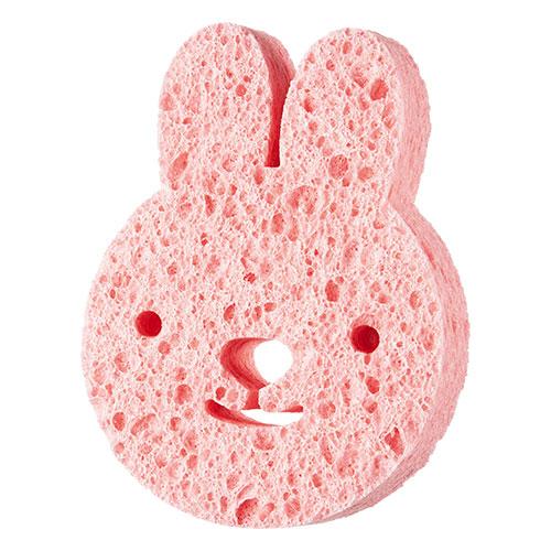 Мочалка детская для тела DE.CO. KIDS целлюлозная Rabbit