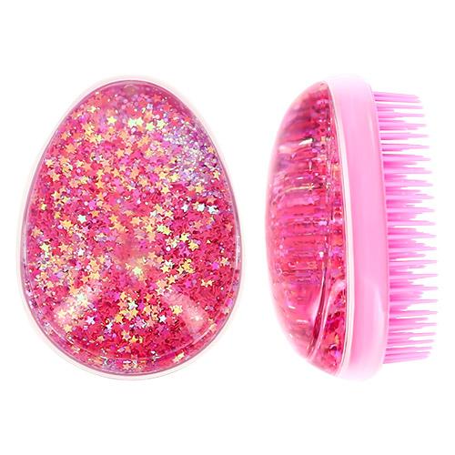 Купить Расческа для волос LADY PINK с глиттером, КИТАЙ/ CHINA
