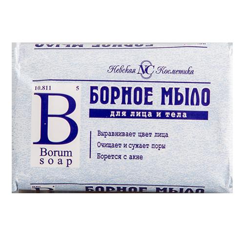 Купить Мыло НЕВСКАЯ КОСМЕТИКА борное 90 г, РОССИЯ/ RUSSIA