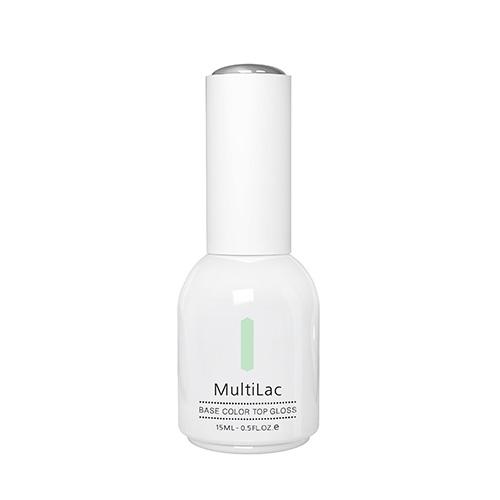 Гель-лак `RUNAIL PROFESSIONAL` MULTILAC 4 в 1 Cool Mint (классический) 15 млЛаки<br>Гель-лак 4 в 1<br>