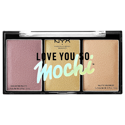 Купить Палетка хайлайтеров для лица NYX PROFESSIONAL MAKEUP LOVE YOU SO MOCHI тон 01, США/ USA