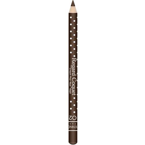 Карандаш-каял для глаз VIVIENNE SABO REGARD COQUET тон 02 коричневыйКарандаши<br>Карандаши-каялы Regard Coquet из коллекции могут служить прекрасным дополнением макияжу коллекции, а так же выступить соло. Великолепная бархатная текстура карандаша позволяет создать идеальную линию, как по ресничному контуру, так и по внутреннему краю века. Корпус карандаша одет в классический принт Vivienne Sabo - милый кокетливый горошек, что добавляет коллекции лёгкости и элегантности. Карнаубский и Канделильский воски - обеспечивает пластичность текстуры, легкость скольжения, придает пластичность и стойкость текстуре. Состав содержит активные антиоксиданыт - витамины А и Е<br>