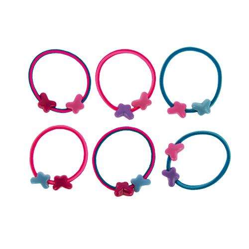 Набор резинок `MISS PINKY` 6 штНаборы<br>Аксессуары для волос MISS PINKY подчеркнут красоту прически вашей маленькой модницы.<br>