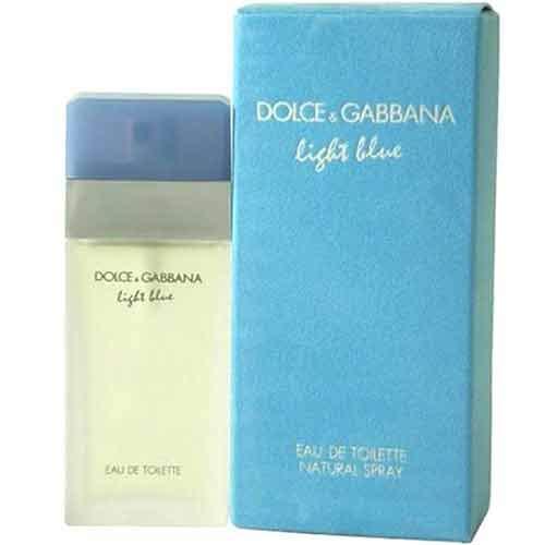 """Туалетная вода DOLCE &amp; GABBANA LIGHT BLUE жен. 100 млЖенская<br>""""Мы гордимся созданием Dolce   СРЕДНИЕ НОТЫ: Белая роза; ШЛЕЙФ: Мускус.<br>"""