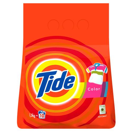 Порошок стиральный TIDE COLOR автомат 1,5 кг