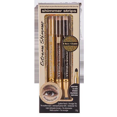 Набор карандашей для глаз `PHYSICIANS FORMULA` SHIMMER STRIPS EXTREME с аппликатором (3 шт)Карандаши<br>Сверкающие карандаши с глиттером. Сочетай цвета, рисуй тонкие линии или растушевывай их с помощью аппликатора.<br>