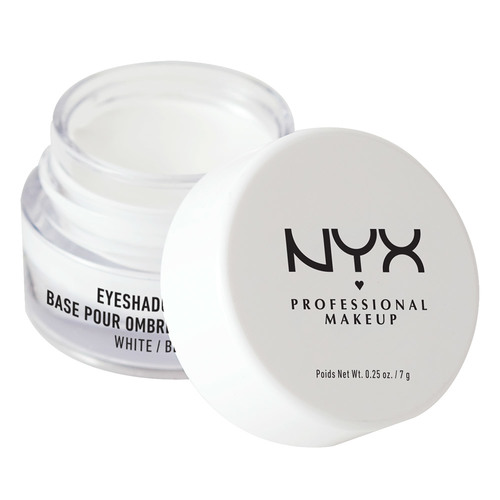 Праймер для век `NYX PROFESSIONAL MAKEUP` EYESHADOW BASE тон 01 WHITE