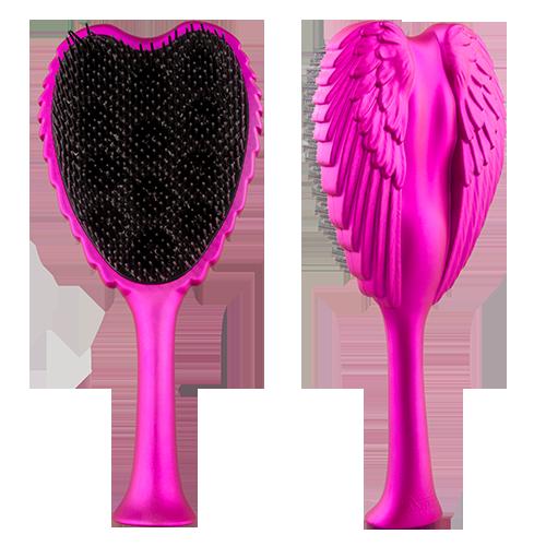 Расческа для волос TANGLE ANGEL XTREME FuchsiaЩетки массажные<br>Профессиональная распутывающая расческа Tangle Angel легко и безболезненно распутывает даже самые непослушные волосы. Обладает теплостойким, антибактериальным и антистатическими свойствами. Максимально функциональная форма щетки позволяет держать ее как за «крылья», так и за ручку.<br>