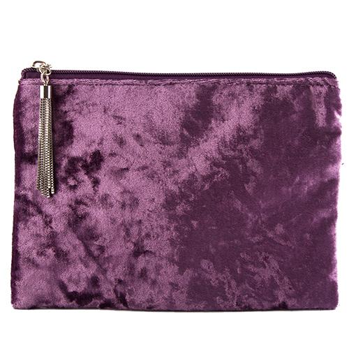 Косметичка LADY PINK VELVET фиолетоваяКосметички<br>Косметичка Lady Pink - стильное и удобное решение для хранения косметики. Большой выбор косметичек разных форм и размеров, а также ярких дизайнов позволит легко выбрать ту, которая подходит именно тебе.<br>