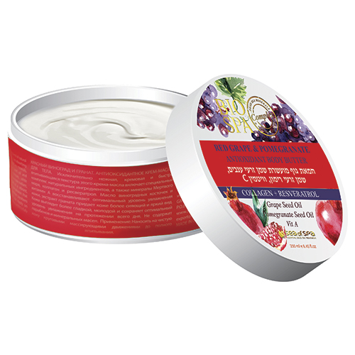 Купить Крем-масло для тела SEA OF SPA BIOSPA Красный виноград и гранат антиоксидантное 250 мл, ИЗРАИЛЬ/ ISRAEL