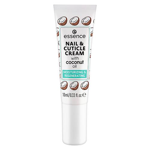 Крем для ногтей и кутикулы ESSENCE NAIL & CUTICLE CREAM с кокосовым маслом 8 мл