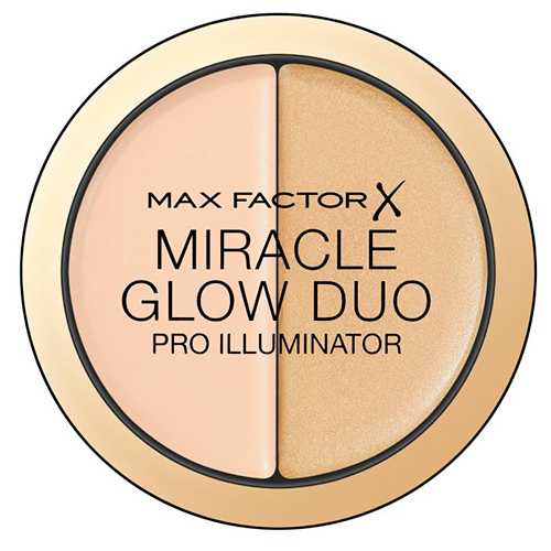 Хайлайтер для лица MAX FACTOR MIRACLE GLOW DUO тон 10 light фото
