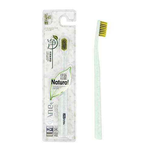 Щетка зубная LMK ANE+  NATURAL мягкая green
