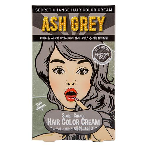 Купить Крем-краска для волос MEDIHEAL SECRET HAIR Ash grey, РЕСПУБЛИКА КОРЕЯ/ REPUBLIC OF KOREA