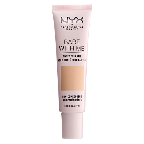 Основа тональная для лица `NYX PROFESSIONAL MAKEUP` BARE WITH ME тон Natural Soft beige