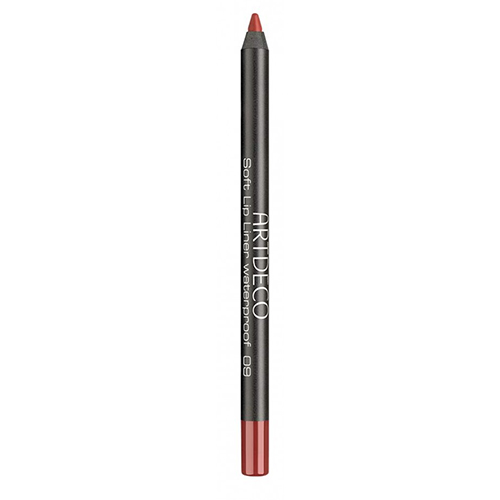 Карандаш для губ `ARTDECO` SOFT LIP LINER WATERPROOF тон 09 водостойкий