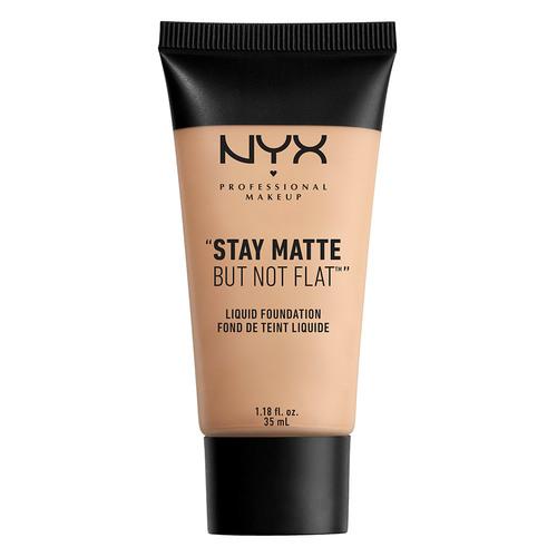 Купить Основа тональная для лица NYX PROFESSIONAL MAKEUP STAY MATTE BUT NOT FLAT тон 04 Creamy natural матирующая, США/ USA